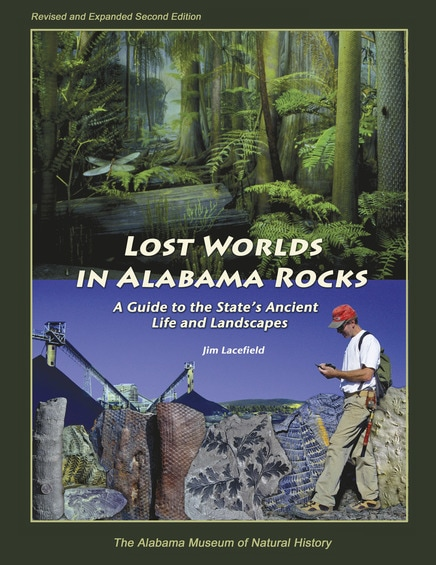 front cover of lost worlds in alabama rocks